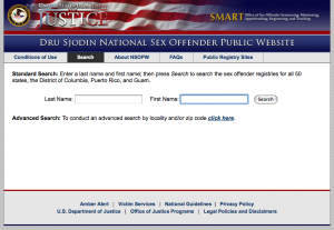You should always run the people you are investigating through the national sex offender database.